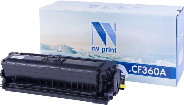 Картридж совместимый NVPrint CF360A для НР черный