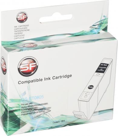 Картридж совместимый SuperFine T0805 светло голубой для Epson