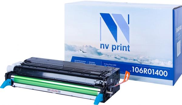 Картридж совместимый NVPrint 106R01400 для Xerox голубой