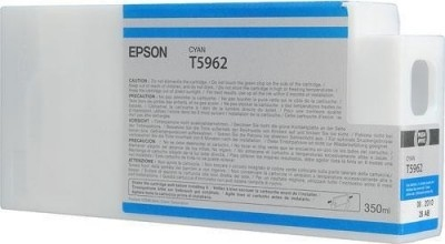 Картридж EPSON T5962 (C13T596200) голубой оригинальный