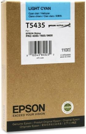 Картридж EPSON T5435 светло-голубой оригинальный