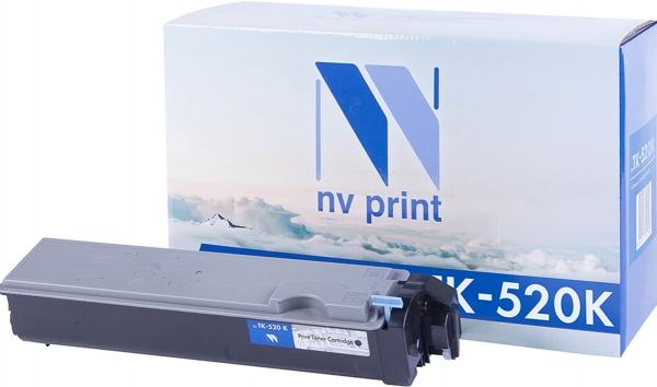 Картридж совместимый NVPrint TK-520 для Kyocera черный