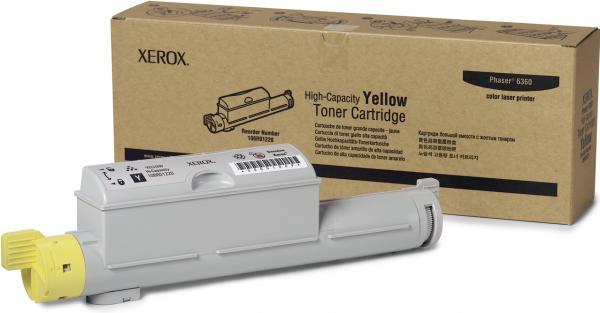 Картридж XEROX 106R01220 желтый оригинальный