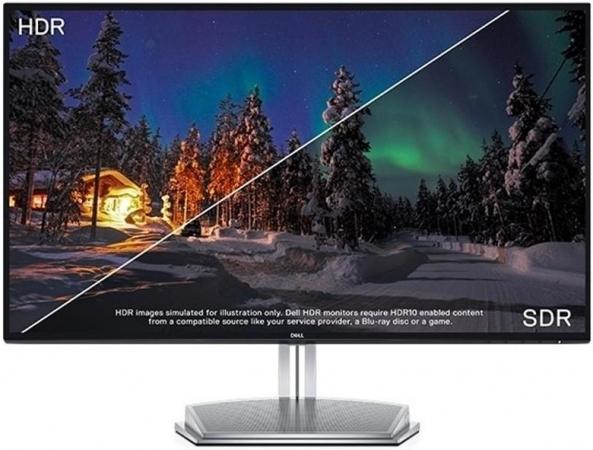 """Монитор 27"""" Dell S2718H Black-Silver"""