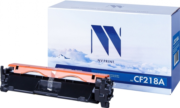 Картридж совместимый NVP CF218A черный для HP