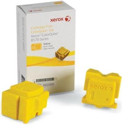 Чернила твердые XEROX ColorQube 8570 желтые CNL оригинальные