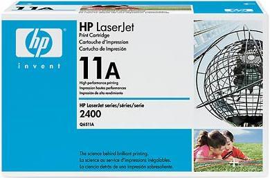 Картридж HP Q6511A черный оригинальный