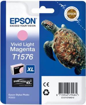 Картридж EPSON T15764010 светло-пурпурный оригинальный