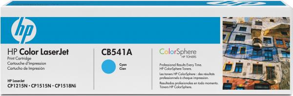 Картридж HP CB541A синий совместимый