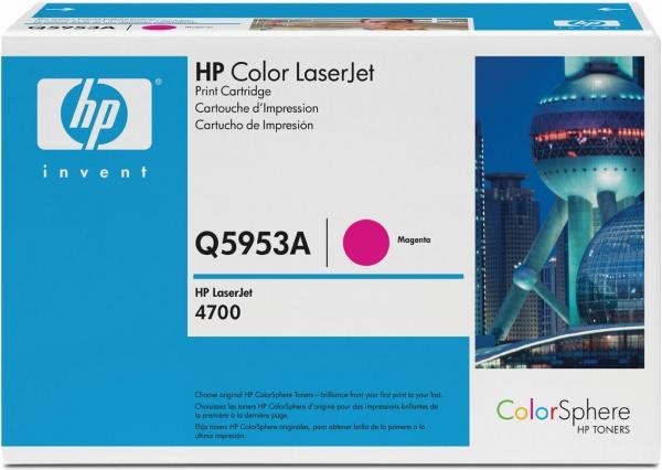 Картридж HP Q5953A пурпурный оригинал