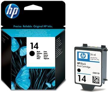 Картридж HP N14 черный оригинальный