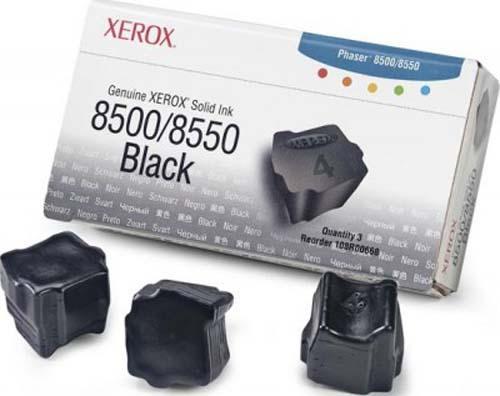 Твердые чернила Xerox 108R00668 черный оригинальный 3 шт