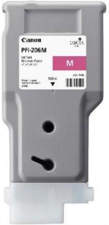 Картридж CANON PFI-206 M пурпурный оригинальный