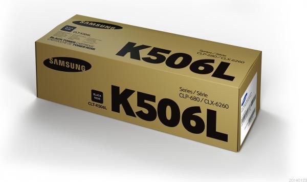 Картридж Samsung CLT-K506L черный оригинальный
