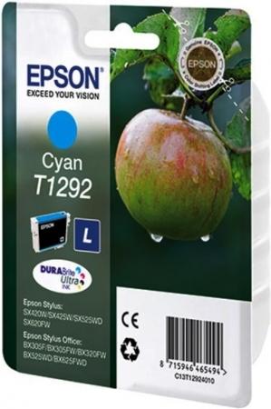 Картридж EPSON T12924012 голубой оригинальный