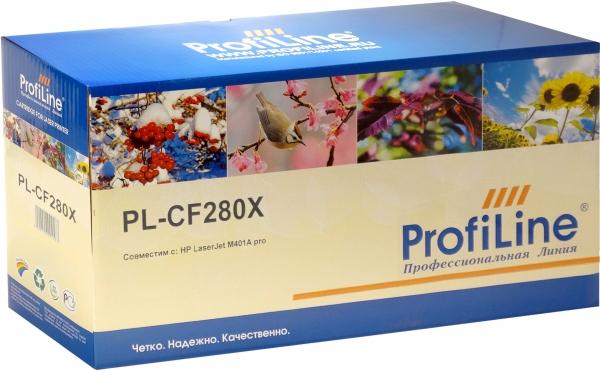 Картридж совместимый ProfiLine CF280X для HP