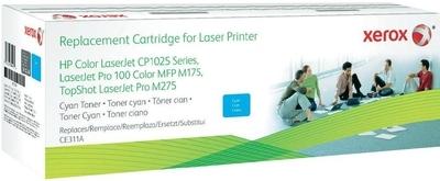 Картридж совместимый Xerox HVD CE311A для HP голубой