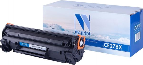 Картридж совместимый NVPrint CE278X для HP