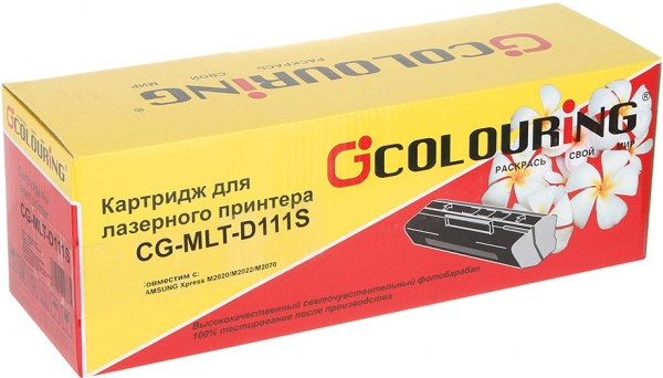 Картридж совместимый Colouring MLT-D111S для Samsung