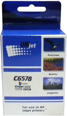 Картридж совместимый Unijet C6578AE (78) 3-Color для HP
