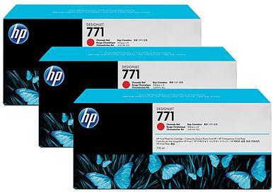 Картридж HP № 771 красный хроматичный двойная упаковка оригинальный