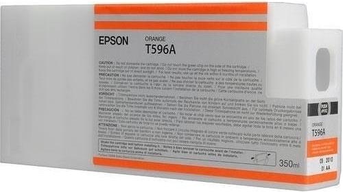 Картридж Epson T596A (C13T596A00) оранжевый оригинальный