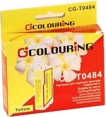 Картридж совместимый Colouring 48440 для Epson желтый