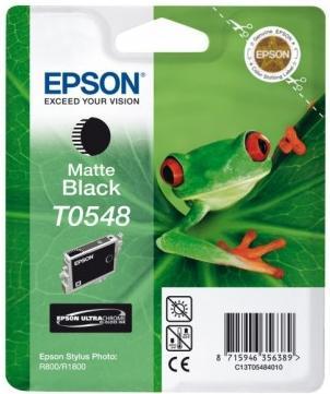 Картридж EPSON T054840 черный матовый оригинальный
