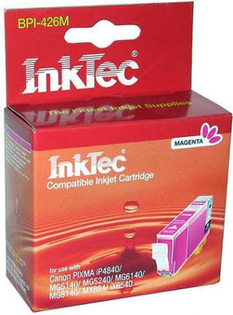Картридж совместимый InkTec BPI-426M (CLI-426M) пурпурный для CANON