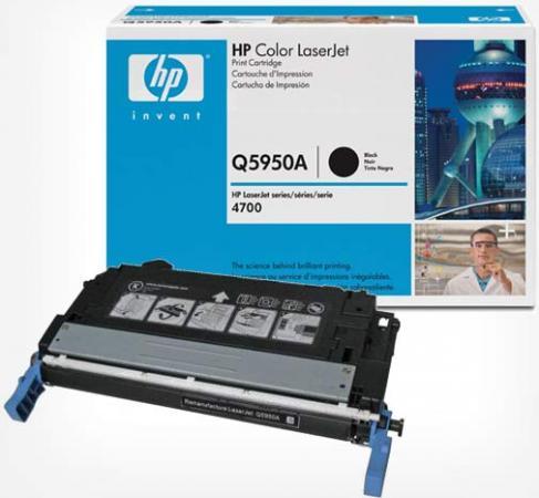 Картридж HP Q5950A черный оригинальный
