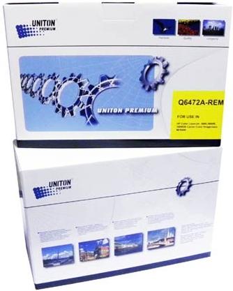 Картридж совместимый UNITON Premium Q6472A (502A) для HP
