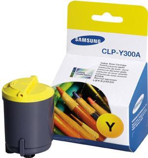 Картридж Samsung CLP-Y300A желтый оригинальный