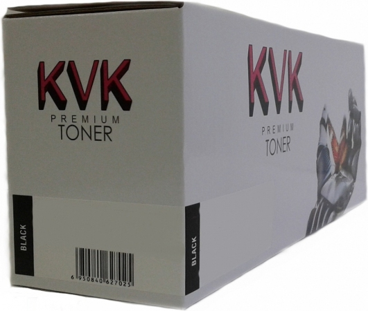 Картридж совместимый KVK CF410X черный для HP