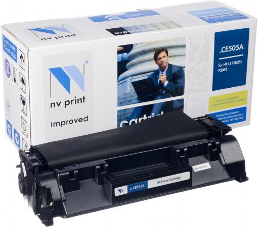 Картридж совместимый NV Print CE505A для HP
