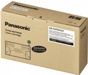 Картридж PANASONIC KX-FAT431A7D черный (2 х 6000 стр.) оригинальный