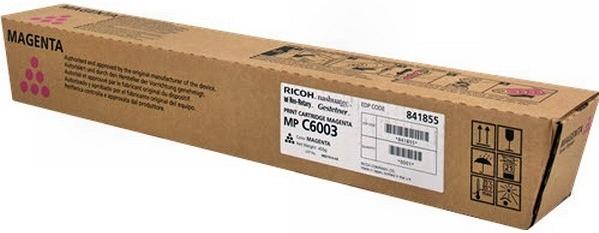 Тонер-картридж MPC6003 для Ricoh малиновый
