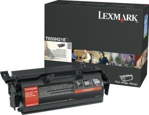Картридж Lexmark T650H21E черный оригинал