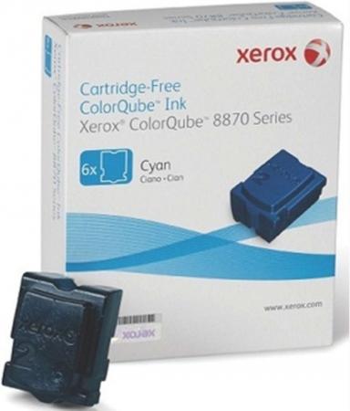 Чернила XEROX 108R01022 (6x2,82K) голубые оригинальные