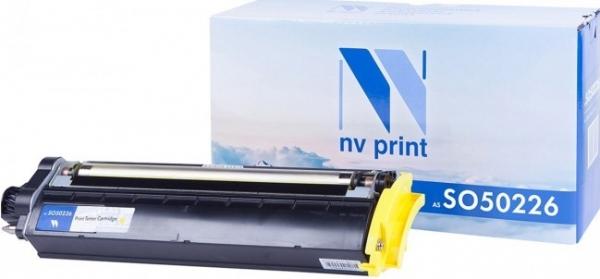 Картридж совместимый NVP S050226 желтый для Epson