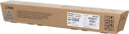 Тонер-картридж MPC2503 для Ricoh голубой