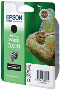 Картридж EPSON C13T03414010 фото-черный оригинальный