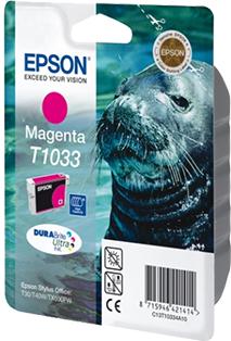 Картридж EPSON T10334A пурпурный оригинальный