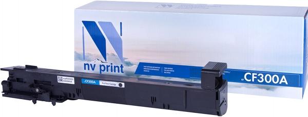 Картридж совместимый NVP CF300A черный для HP