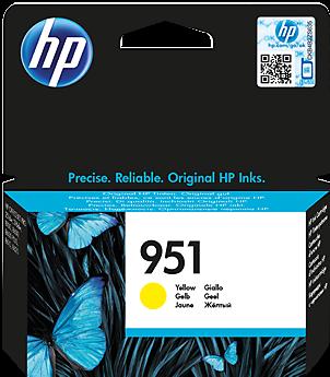 Картридж HP CN052AE желтый оригинальный