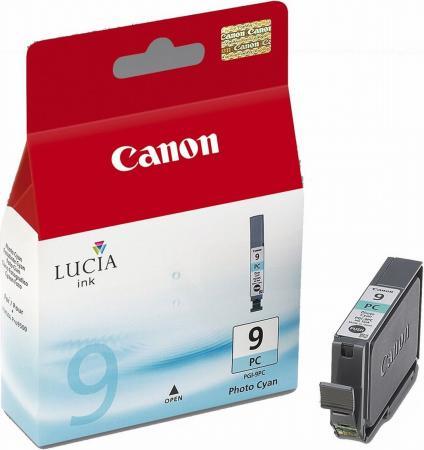Картридж Canon PGI-9PC голубой фото оригинальный