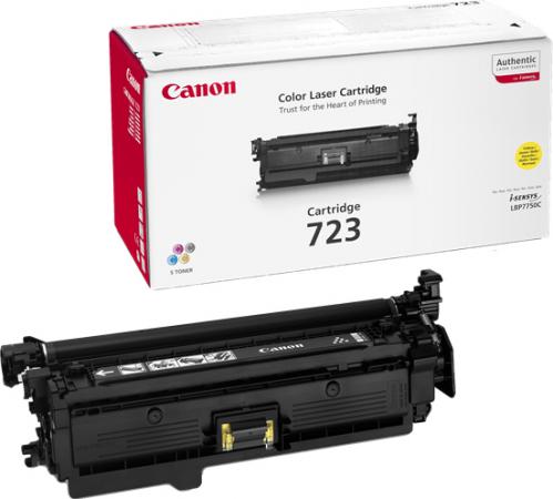 Картридж Canon 723Bk черный совместимый NV Print