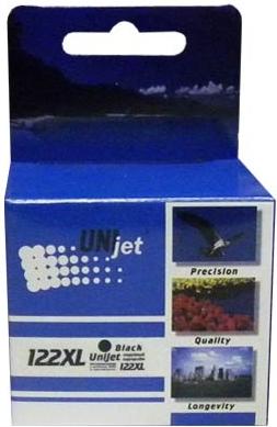 Картридж совместимый Unijet CH563HE (122XL) черный для HP