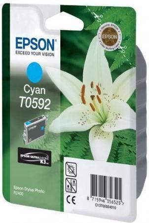 Картридж EPSON T059240 голубой оригинальный