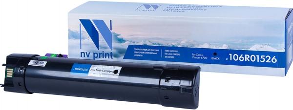 Картридж совместимый NVPrint 106R01526 для Xerox черный