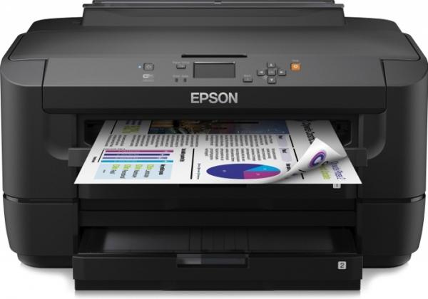Принтер струйный цветной Epson WorkForce WF-7110DTW